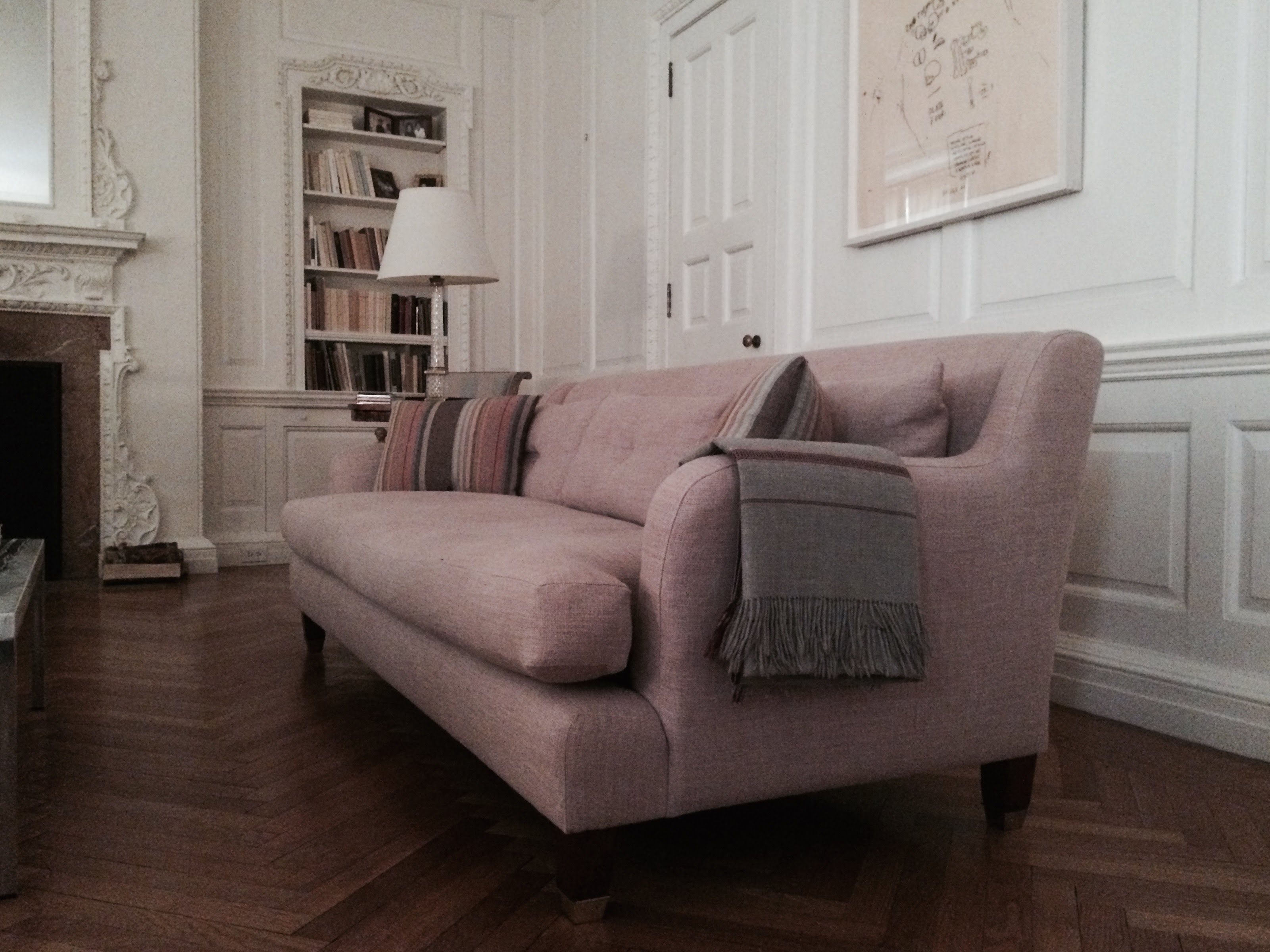 Sofa Reupholstery For Carolina Von Humbolt Interiors   Reupholstered By  Brooklyn Workroom